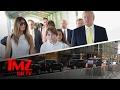 Barron Trump Heads To School In NYC! | TMZ TV