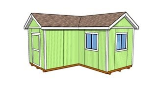 L-shaped Shed