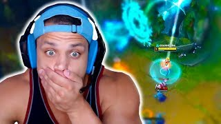 Tyler1 With the Most Alpha TP in League of Legends! Yassuo Crazy Nidalee Play! - LoL Stream Moments