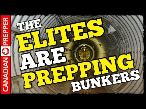 The Rich are Buying Doomsday Bunkers/ Land for SHTF