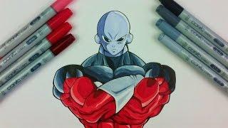 How to Draw JIREN THE GRAY - Universe 11 Strongest Warrior | Tutorial by TolgArt