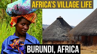 Africa's Village life | Life in Mountains Village Life in Mountains | Rural Burundi Africa | #Gitega