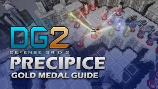 #9 PRECIPICE Gold Medal - Defense Grid 2