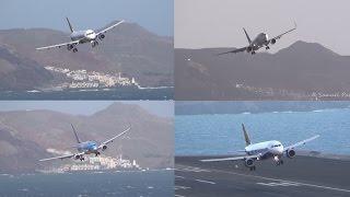INTENSE Landings Go-Arounds Gust Winds 37KT STORM