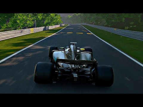 Gran Turismo Sport - Gameplay Mercedes-AMG F1 W08 EQ Power+ @ Nurburgring Nordschleife [1080p 60fps]