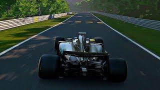 Gran Turismo Sport - Gameplay Mercedes-AMG F1 W08 EQ Power+ @ Nurburgring Nordschleife [1080p 60fps]