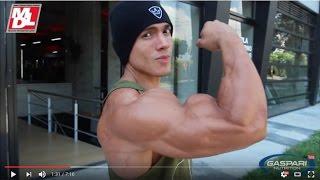 Daniel Roman Un Fisico Clasico para el Men's Physique ( Rutina de Espalda)
