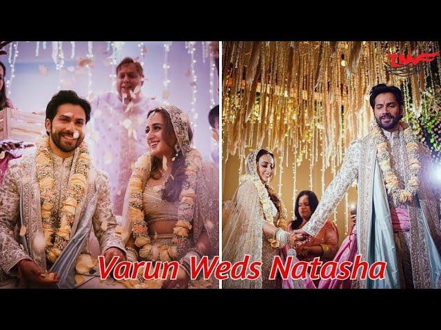 Varun Natasha Wedding Video:সাতপাকে বাঁধা পড়লেন বরুণ-নাতাশা, দেখুন গ্র্যান্ড ওয়েডিংয়ের নানা মুহূর্ত