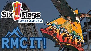 Dear Six Flags Great America, RMC American Eagle!