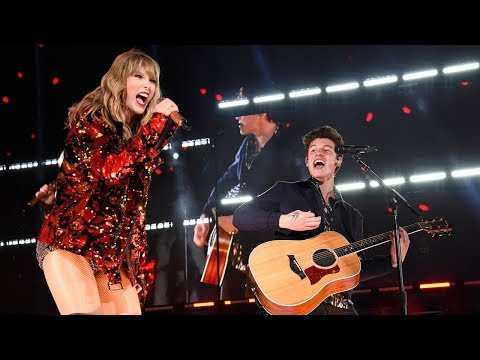 Shawn Mendes GUSHES About Performing With Taylor Swift