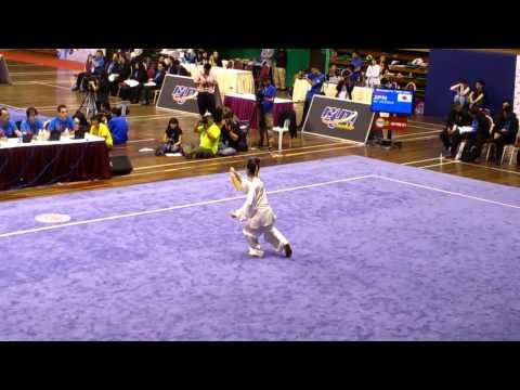 第12届世界武术锦标赛女子太极剑亚军 - Ai Uchida