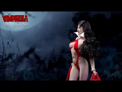 phicen 1/6 vampirella action figure 吸血魔女开箱