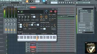 cara membuat arpegiator synth lagu VELHINHA - My Faster Drugs di FL STUDIO