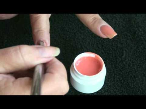 Glitter Tip Gel Refill To Color Overlay Do Your Nails At Home