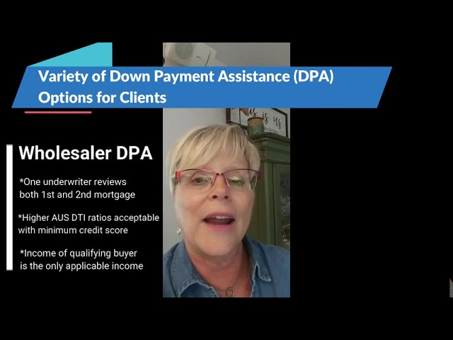Variety of Down Payment Assistance Options for Clients