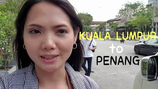 KL - PENANG BY BUS - TRAVEL VLOG 01, Malaysia to Thailand by Bus