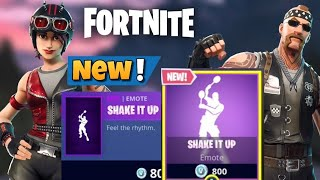 Fortnite BR: New Shake it Up Emote + New Skins in the Item Shop!!!