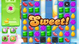 Candy Crush Jelly Saga Level 1544 (3 stars, No boosters)
