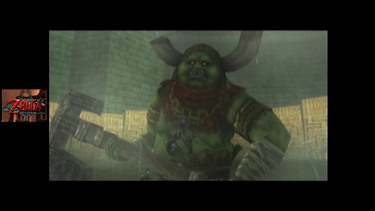 Zelda Twilight Princess Gc Commentary 068 Hyrule Castle The Courtyards Youtube