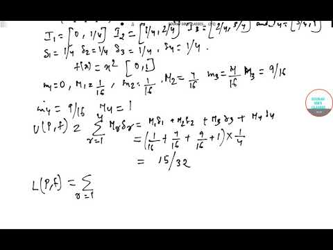 REAL ANALYSIS REIMANN INTEGRAL ONLINE LECTURES YEAR SOLVE