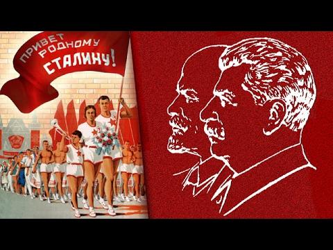 Сталинский СССР - Парад физкультурников на Красной площади