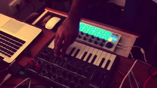 Cranknob Studio Session | Experiment with Arturia's Microbrute and Beatstep