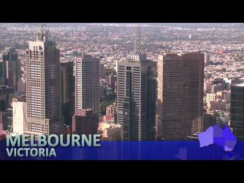 Melbourne from above, Victoria, Australia - Moving to Australia watch this
