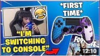 TSM_DAEQUAN Switching To CONSOLE??? PS4 Is OP With Aim Assist!!! Fortnite Battle Royale