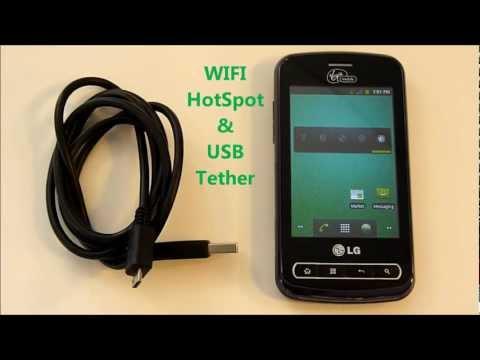 LG Optimus Slider - WIFI HotSpot & USB Tether also works w/ Enlighten & Q