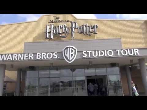 Warner Brothers Harry Potter Studio Tour in London, England