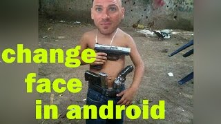 How To Replace Face in Android