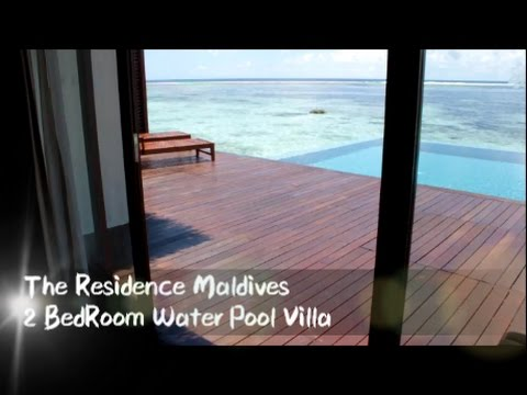 The Residence Maldives 2 Bedroom Water Pool Villa