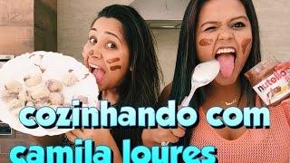 COZINHANDO COM CAMILA LOURES - Brigadeiro de leite ninho com nutella
