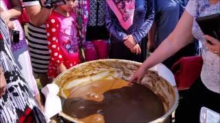 Uzbek sumalak Yalla Toronto 2015 Узбекский сумаляк Ялла Özbek sümeleği Samanak سمنک