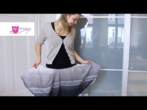 DIY Eule: einfachen Petticoatrock nähen