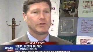 Rep. Ron Kind: WEAU Office Giveback 5.1.2013