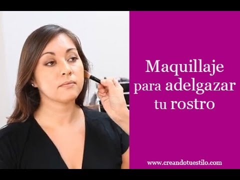 Maquillaje para adelgazar tu rostro - Make Your Face Look Thinner With Makeup Videos De Viajes
