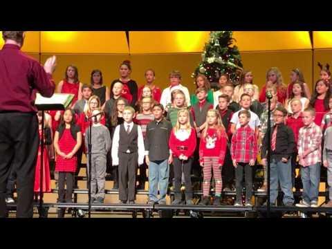 Katelyn's Fourth-Grade Christmas Musical Performance