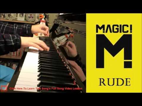 MAGIC! - Rude (Piano Cover by Amosdoll)