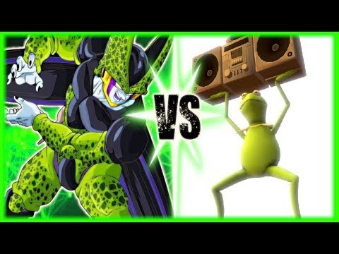 Perfect Cell Vs Super Kermit