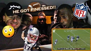 WE GOT GASSED!! - BRITISH BOYS REACT TO BEST NFL JUKES