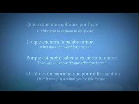 L-O-V-E (Spanish Version) - Nat King Cole (Lyrics w/ Translation)