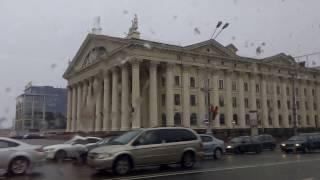. Минск. Экскурсия по городу на автобусе