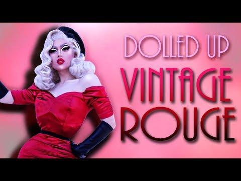 DOLLED UP - Vintage Rouge 🌹 [ Drag Transformation ]