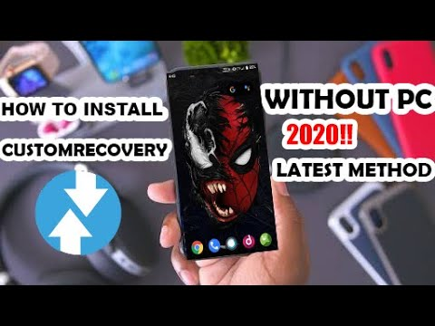 How To Install TWRP Recovery On Android Without PC [ Latest 2019 Universal Method ]