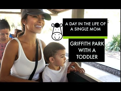 A DAY IN THE LIFE OF A SINGLE MOM | Griffith Park Adventures with sz