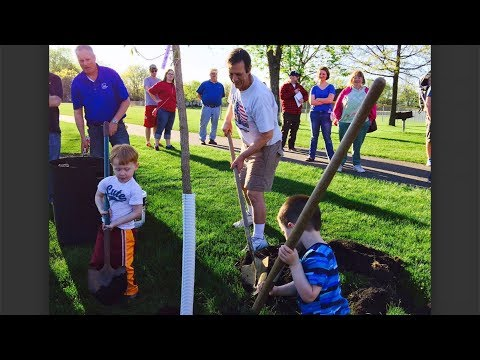 Arbor Day Celebration in Crystal