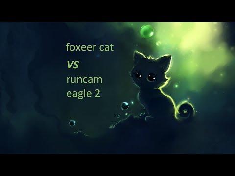 Сравнение Foxeer CAT и Runcam Eagle 2 In Flight! Night Flight. Ночной полёт