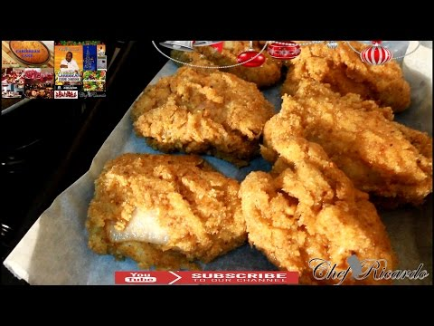 Christmas Bread Crumbs Fried Chicken Recipe