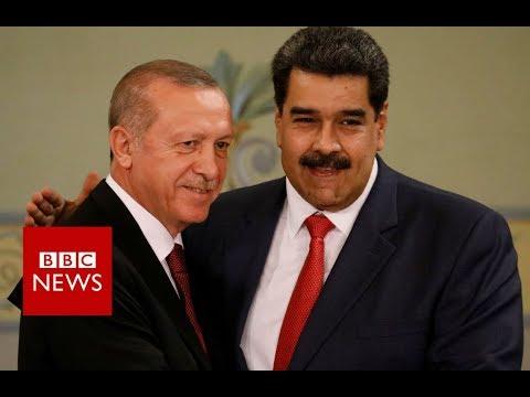 Venezuela's gold diplomacy gamble - BBC News